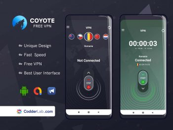 coyote vpn free unlimted for all user | codderlab