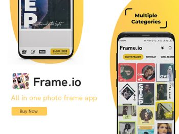 Frame.io - Photo Frame |Android Source Code |codderlab.com